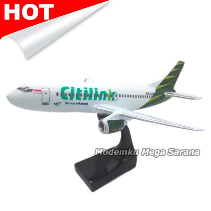 harga Miniatur pesawat terbang citilink 20x17x12 - fiber glass Tokopedia.com