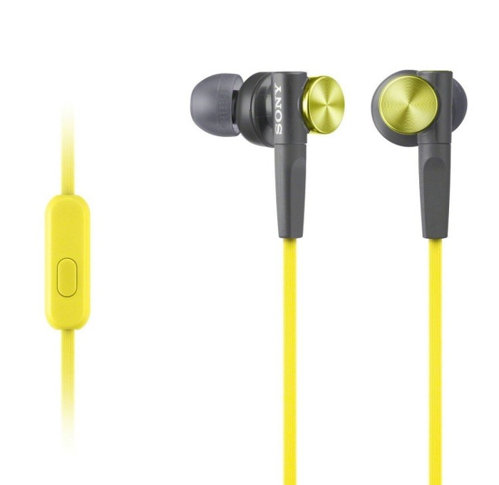 harga Sony In-ear Extra Bass (xb) Headphone Mdr-xb50ap - Yellow Tokopedia.com