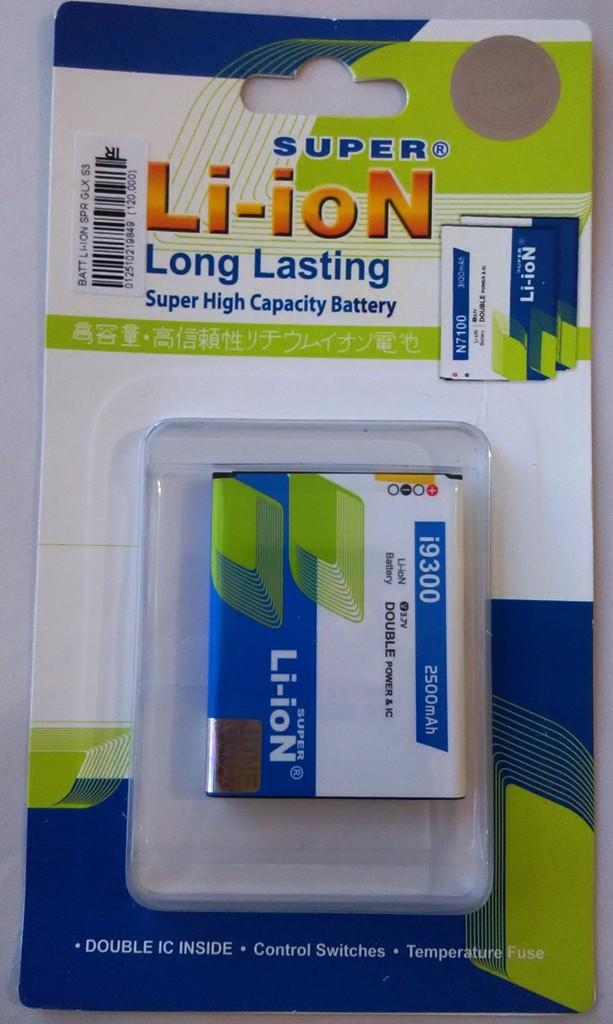 harga Baterai battery li-ion super samsung galaxy s3 i9300 Tokopedia.com