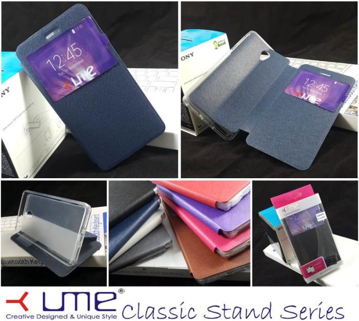 harga Jual ume classic view window flip soft cover casing case lenovo s860 Tokopedia.com