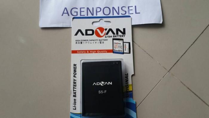 Baterai Advan S5 F Batre Batere Battery Original Ori