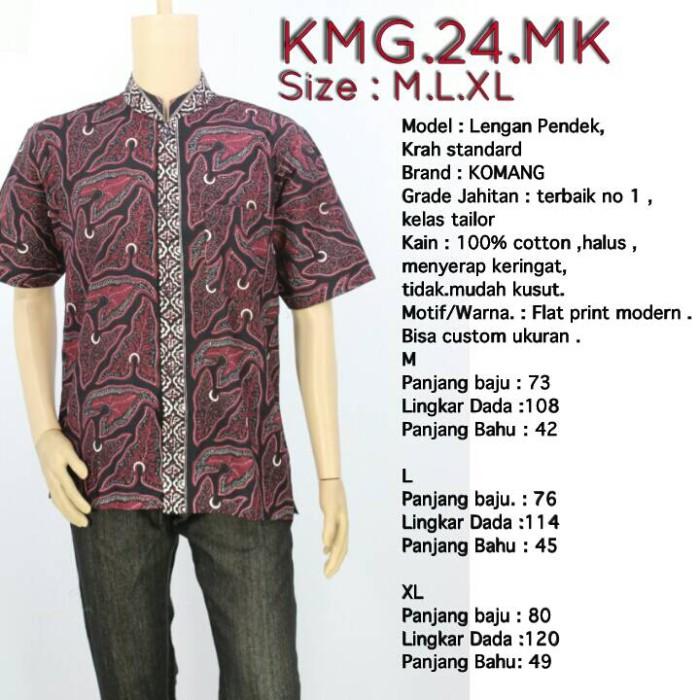 Jual Hem Batik Pria Lengan Pendek Baju Kemeja Batik Laki Grosir Kab Kediri Baju Batik Solo Tokopedia