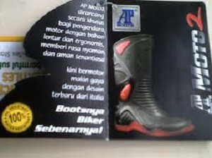 Jual AP Boots MOTO 2 - Sepatu Boots Safety Rider - Privacy ... 3cb5267141