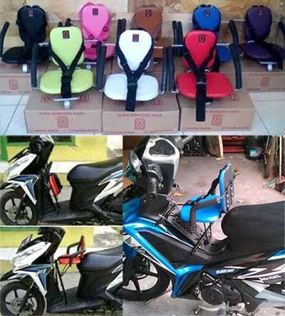 harga Kursi bonceng anak jok depan sepeda motor matic moped bebek manual Tokopedia.com