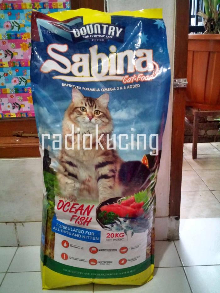 harga Makanan kucing sabina dgn protein 33% (utk semua umur kucing) Tokopedia.com