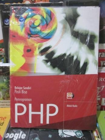 harga Belajar sendiri pasti bisa pemrograman php Tokopedia.com