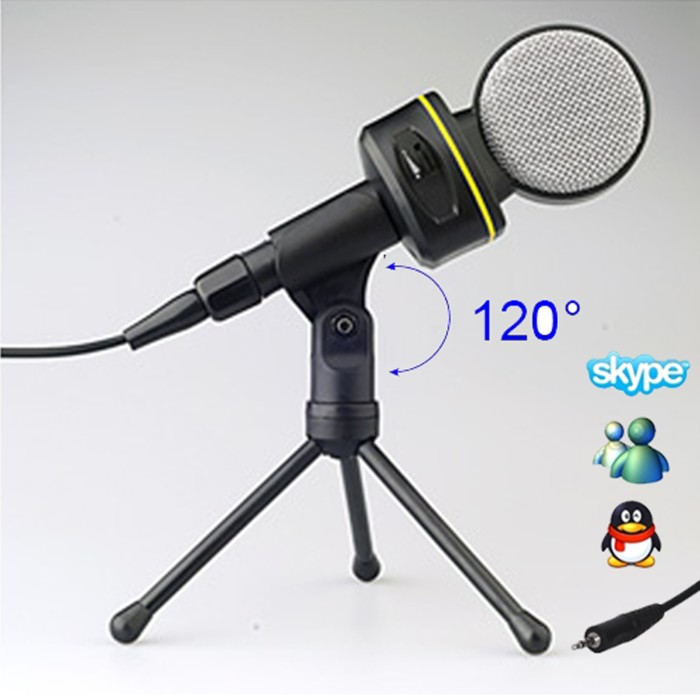 harga Lollipop singing karaoke microphone mic pc laptop skype voip +  tripod Tokopedia.com