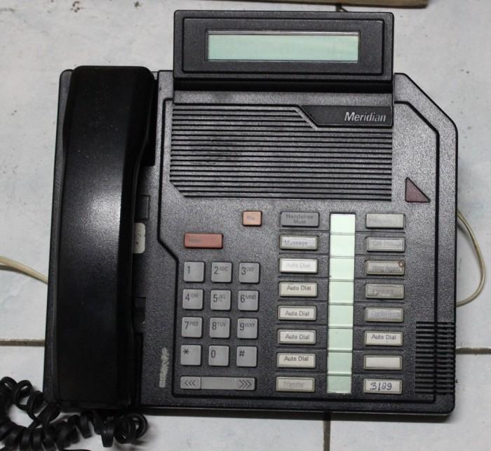 Nortel Meridian M2616 Basic Telephone Black