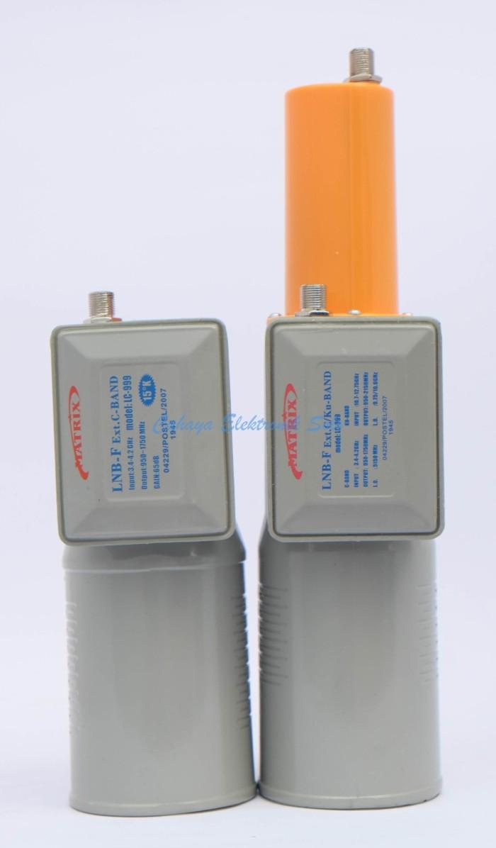 harga Lnb matrix 2 in 1 c/ku band combo duo 1 receiver Tokopedia.com