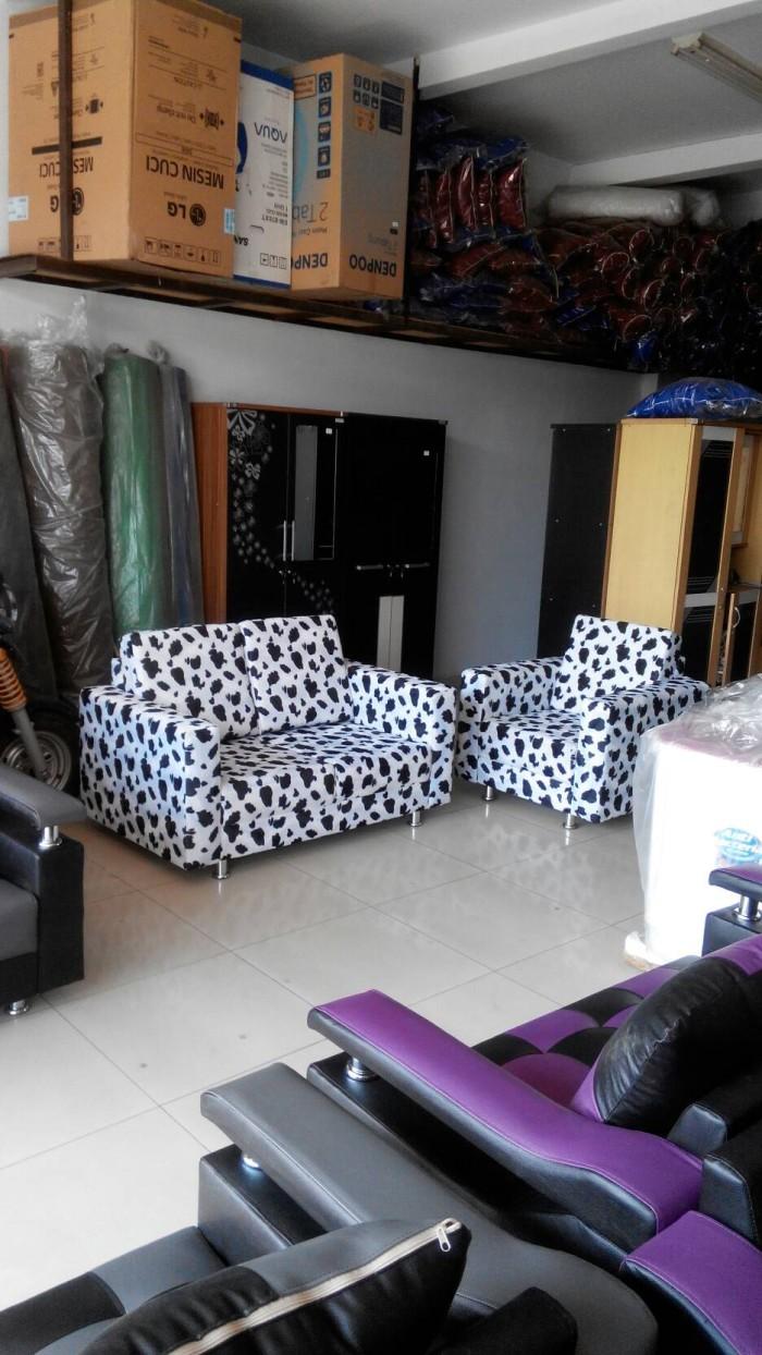 Jual Sofa Motif Hitam Putih Kota Bandung Zahrafurniture Tokopedia