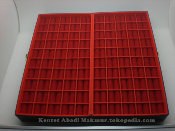 harga Kotak cincin isi 100,bacan,batu akik,permata,bacan,giok,pancawarna,bio Tokopedia.com