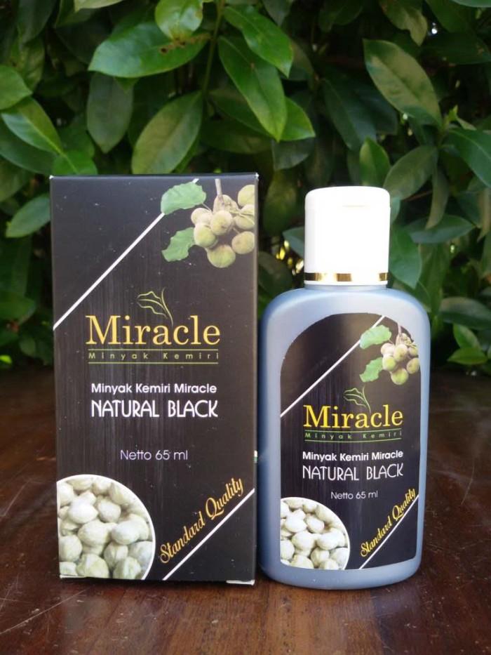 harga Minyak kemiri miracle natural black (penumbuh rambut alami) Tokopedia.com