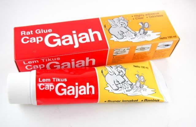 Lem Tikus Cap Gajah Tube 100ml