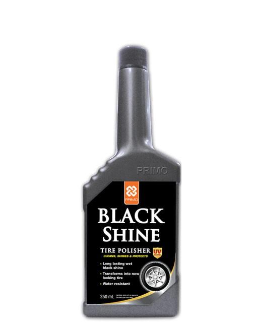 harga Semir ban tire polish primo black shine 250ml Tokopedia.com