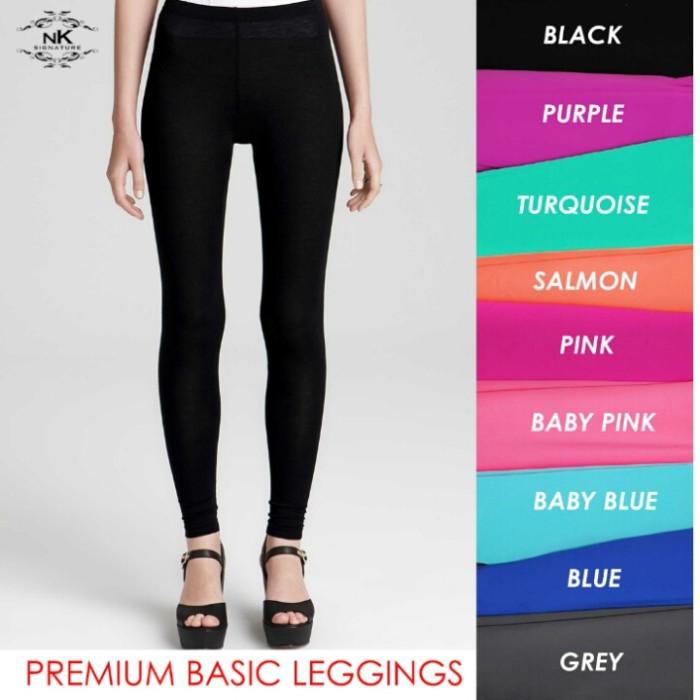 Jual Premium Basic Leggings Legging Tebal Legging Murah Nk Signature Jakarta Barat Be Stylish Tokopedia