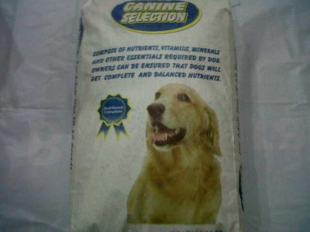 harga Dog food canine selection chicken & lamb Tokopedia.com