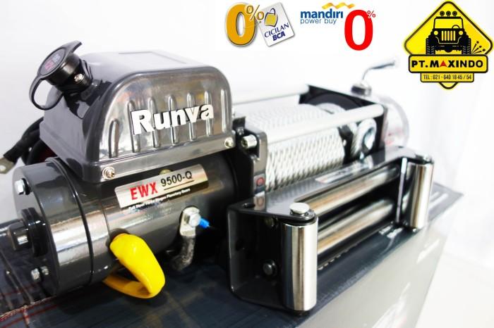 Jual Runva Winch EWX-9500-Q Generasi 3 (4,3ton) Super High Speed - DKI  Jakarta - Maximas Indonesia | Tokopedia