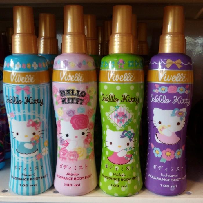 Jual Vivelle Fragrance Body Mist Hello Kitty Series Parfum Hello