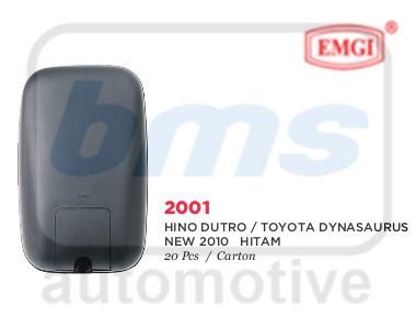 harga Spion emgi hino dutro / toyota dynasaurus new 2010 hitam manual r/l Tokopedia.com