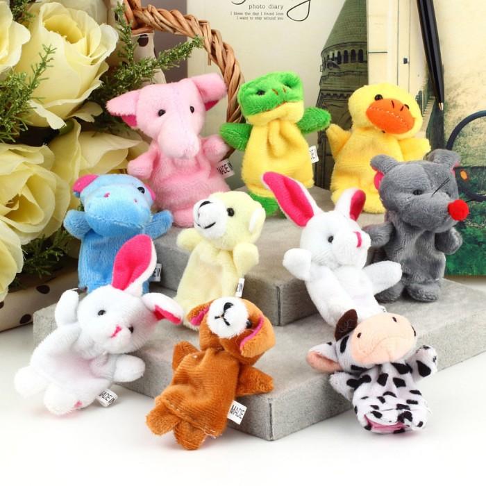 harga Boneka jari seri binatang/hewan (animal finger puppet) Tokopedia.com