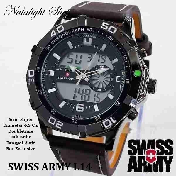 harga Jam tangan swiss army l14 Tokopedia.com