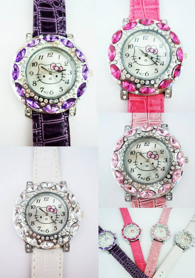 harga Jam tangan diamond hello kitty Tokopedia.com