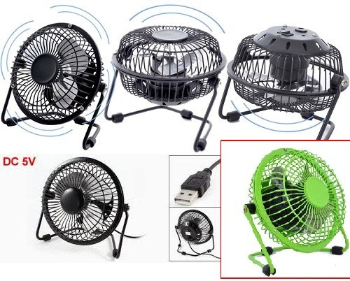 Usb Mini Fan / Kipas Angin Usb Besi