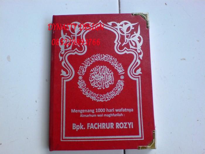 Jual Hardcover Buku Yasin Tahlil Bisa Pasang Poto Dan Desain Yang Menawan Kab Kudus Dynasty Design Tokopedia