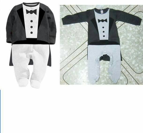 harga Next sleepsuit tuxedo black romper bayi. sz 3 sd 24 bln Tokopedia.com