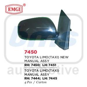 harga Spion emgi toyota vios /  limo taxi 2002 - 2007 hitam manual lh Tokopedia.com