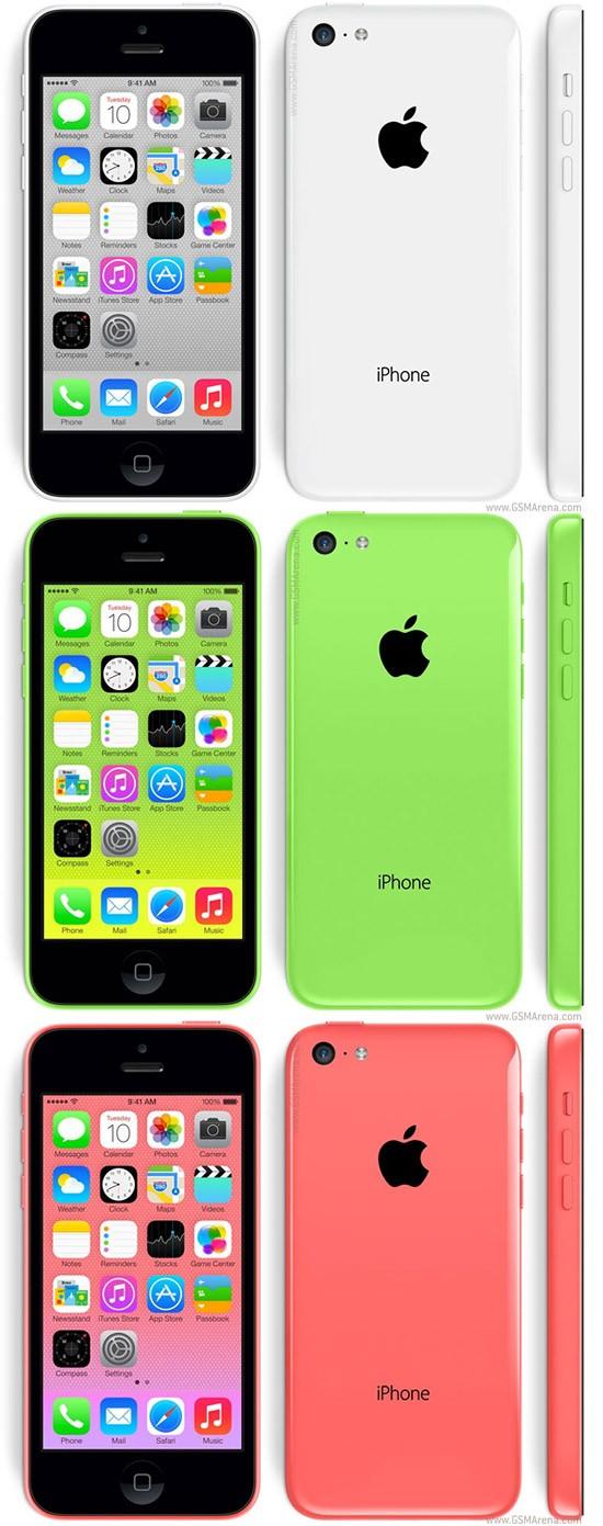 Apple iPhone 5C[8 GB] GSM-ORI GARANSI PLATINUM/TOP 1 TAHUN