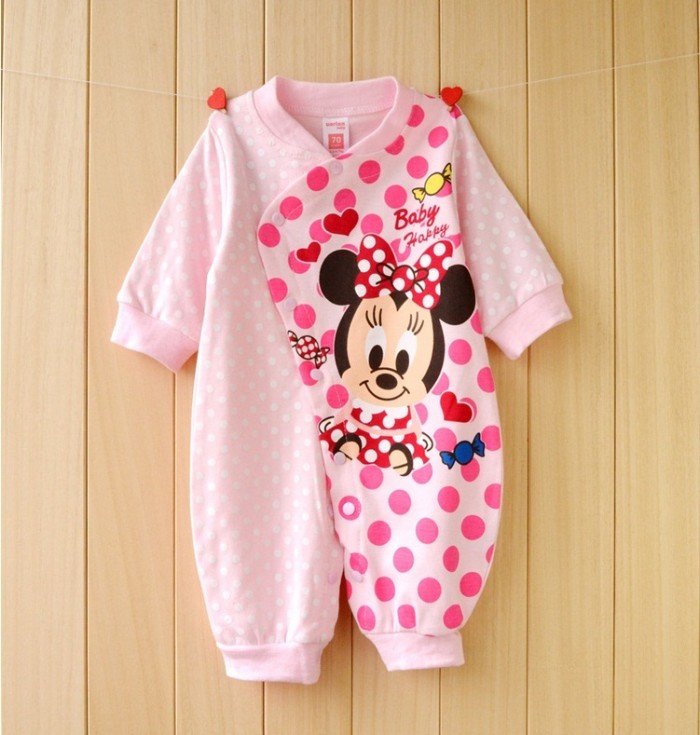 ec3a18a4e Jual Jumper Baby - Pink Polka Baby Minnie   Baby Girl Jumper - Kota ...