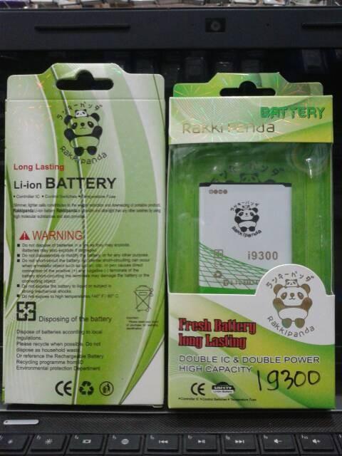 harga I9300 baterai double power rakkipanda samsung galaxy s3 Tokopedia.com