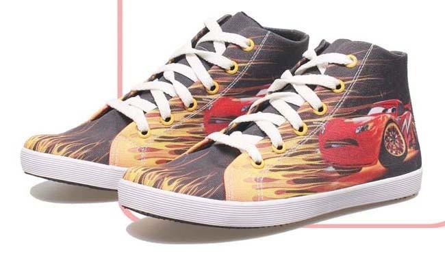 harga Sepatu casual anak laki laki / sepatu anak motif mobil balap brm 815 Tokopedia.com