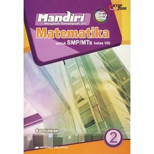 Jual BUKU SOAL MANDIRI MATEMATIKA KELAS 8 SMP ERLANGGA KTSP 2006  GEDEBOOK SHOP  Tokopedia