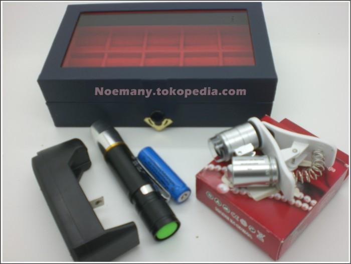harga Kotak cincin isi 15  senter batu akik bacan  mikroskop Tokopedia.com