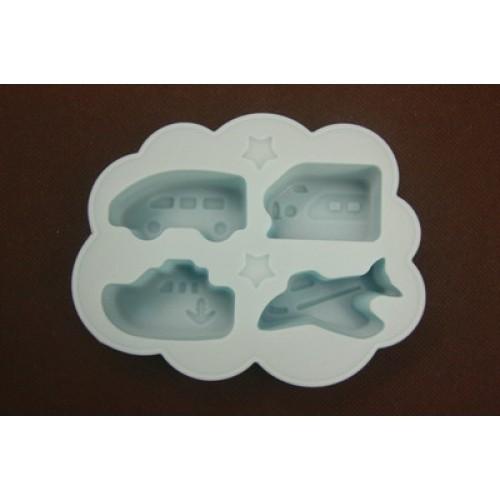 Silicon ice-cube tray (vehicle)  / BENTO CETAKAN ES COKLAT PUDING JELI