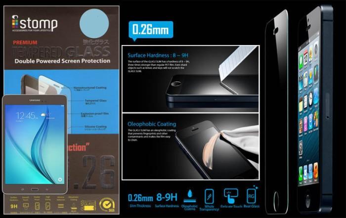 harga Istomp 0.26mm tempered glass samsung galaxy tab a 8.0 t350 Tokopedia.com