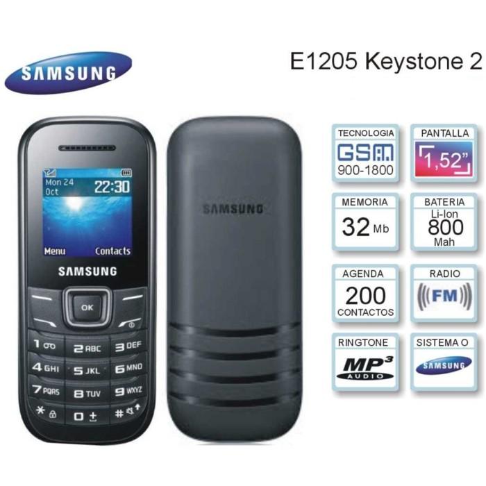Jual Hp Samsung Keystone Gt E 1205 Gsm Fm Radio Cup Cakes