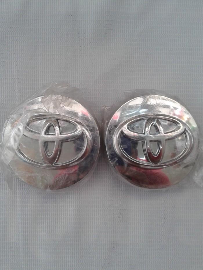 harga Dop velg toyota chrome original diameter 6cm Tokopedia.com