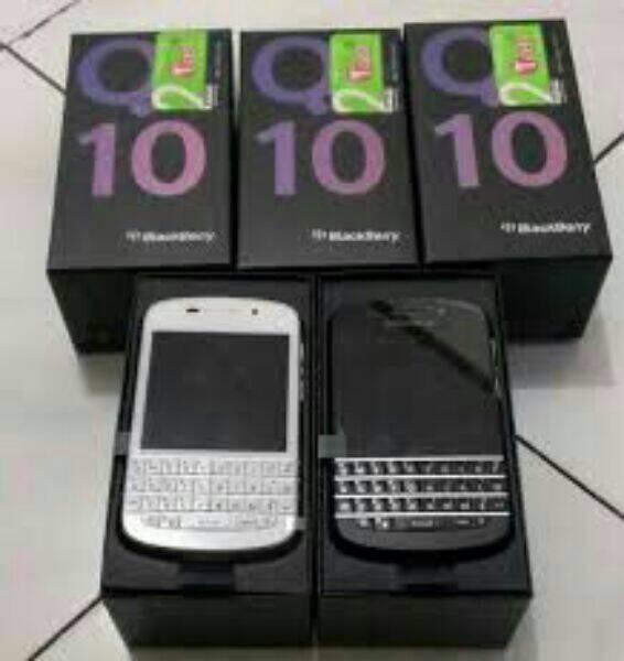 Blackberry q10 new original 100% garansi distributor keypad english