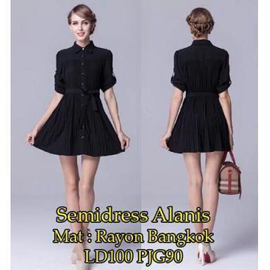 harga Br3730 dress semi alanis murah Tokopedia.com