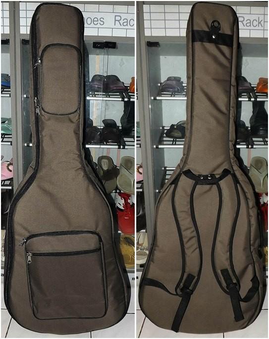 Jual Semi Gigbag Gitar Akustik Refstock Cokelat Kota Bandung Juragan Softcase Tokopedia