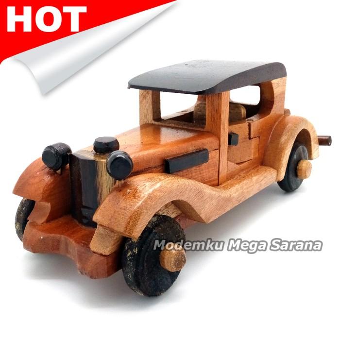 harga Miniatur mobil limosin kayu tutup pendek 21x7x6 cm Tokopedia.com