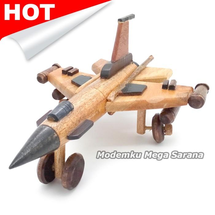 harga Miniatur pesawat tempur f16 kayu 19x15x9 cm Tokopedia.com