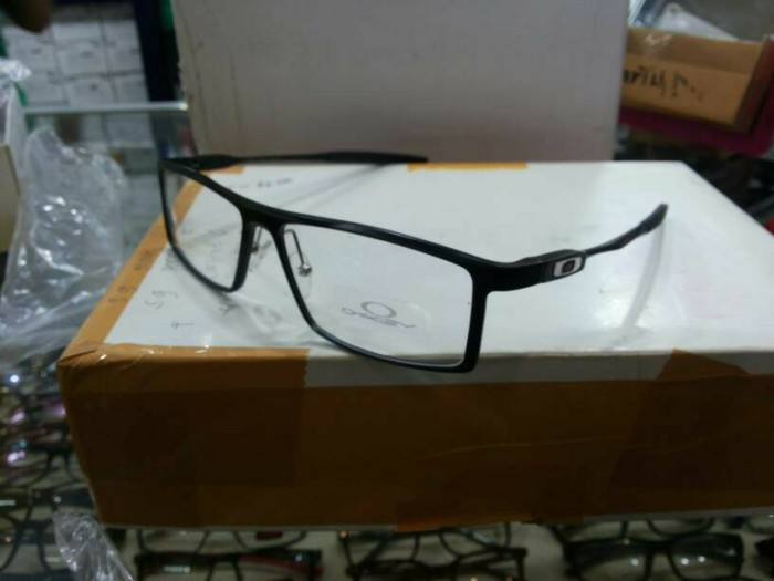 harga Frame kacamata baca merek oakley deviation alloy full black Tokopedia.com