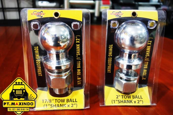 harga Scorpion hitch ball / towing ball / tow ball 2 inch kapasitas 5.000lbs Tokopedia.com