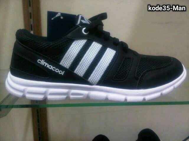 Jual Sepatu Adidas Climacool Black White 150 ribu kode35-Man ... 5cedd64b16