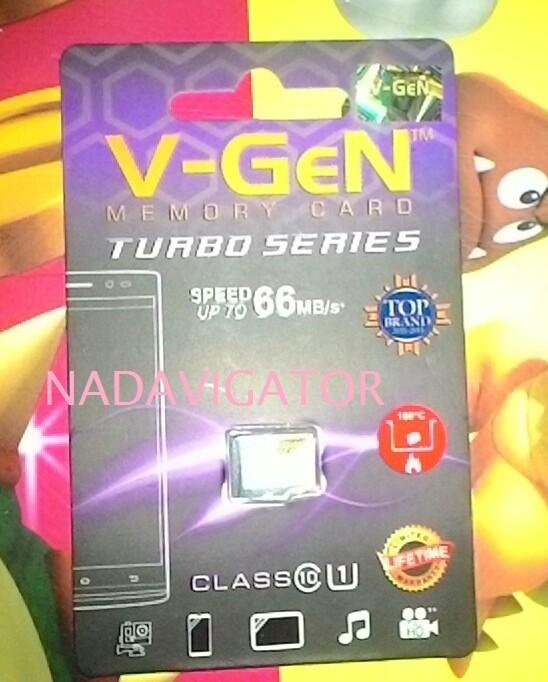 VGEN Micro SD 16 GB Class 10 Turbo Non Adapter / V-GEN Micro SD 16GB