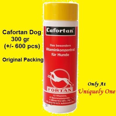 CAFORTAN 300 GR DOG MULTIVITAMIN / SUPLEMENT ANJING